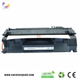 Compatible Black High Capacity for HP Toner Cartridge CE505X (6, 500 Page Yield) for HP Laserjet P2055, pictures & photos