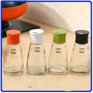 Glass Pepper Jar Sets Condiment Glass Bottle for Spice/Soy Sauce/Vinegar pictures & photos