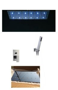 300*600mm Ceiling Mounted LED Shower Head pictures & photos