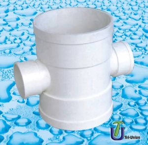 Plastic UPVC Drainage Reducing Cross (BS) pictures & photos