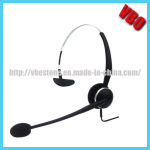 Telecommunication Headset, Telephone Headset pictures & photos