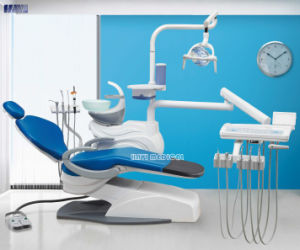 High Quality Blue Color Integral Dental Unit Chair