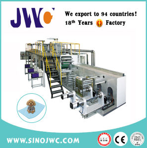 Medical Underpad Price Disposable Nonwoven Bed Sheet Underpad Machine pictures & photos