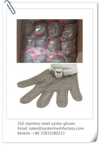 Chain Mail Stainless Steel Oyster Gloves pictures & photos