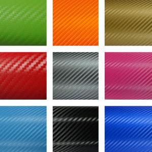Tsautop 18 Colors 3D Carbon Fiber Vinyl for Car Wrapping pictures & photos