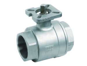 2 PC Thread High Platform Ball Valve
