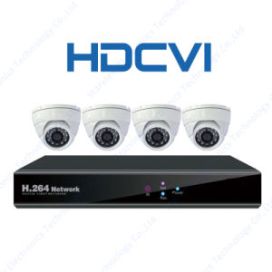 1080P 720p Hdcvi Infrared CCTV Cameras Suppliers Security Camera with 4CH DVR Kit pictures & photos