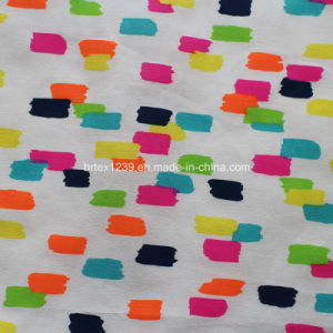 100%Cotton Poplin Fabric with Printed (40X40/120X70) for Garments pictures & photos