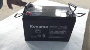 100ah 12V Deep Cycle AGM Storage UPS Backup Battery pictures & photos