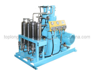 Oil Free Oilless Medical O2 Oxygen Helium Nitrogen Reciprocating Compressor (GOw-200/40) pictures & photos
