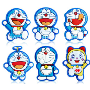 Doraemon PVC Rubber Garden Shoes Buckle for Kids pictures & photos