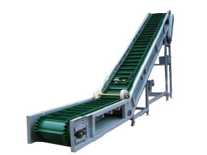 DIP Angle Belt Conveyor for Bulk Material pictures & photos