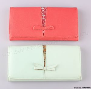2017 New Leather Women Wallet pictures & photos