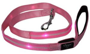 LED Dog Leash - USB Rechargeable Light up Dog Leash; 7 Colors Dog Leashes with Light Increases Safety for Walking Your Pet pictures & photos
