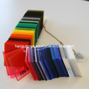 PMMA Fluorescent Cell Cast Scratch Resistant Acrylic Sheets pictures & photos