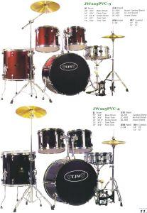 5PCS 22′′ PVC Drum Kits, Drum Sets (JW225PVC-3, JW225PVC-4)