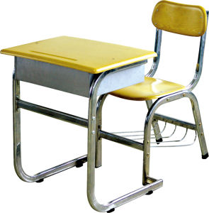 Single School Desk and Chair (HT-131)