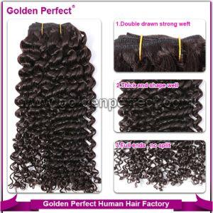 Unprocessed Virgin Peruvian Remy Human Hair Weave (GP-PR-HW)
