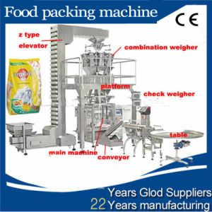 Automatic Weighing Potato Chips Packaging Machine Price pictures & photos