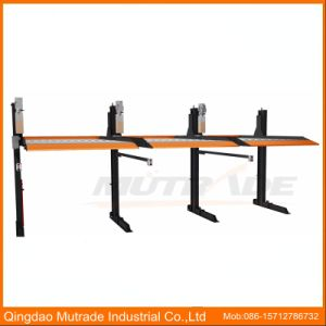 Shopping Mall Double Floor Two Post Car Lift Car Parking pictures & photos