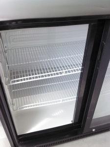 Double Sliding Doors Back Bar Cooler (DBQ-220LS2) pictures & photos