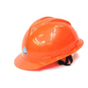 PE Y Type Safety Helmet (Orange) pictures & photos