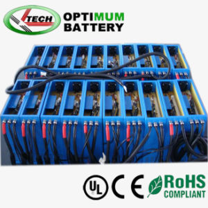 Ev Hev Electric Car LiFePO4 Battery Pack 256V 500ah pictures & photos