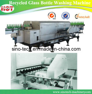 Recycled Glass Bottle Washing Machine pictures & photos