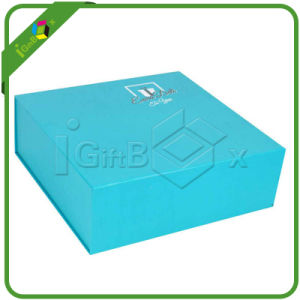 Custom Paper Magnetic Closure Flat Folding Gift Box pictures & photos