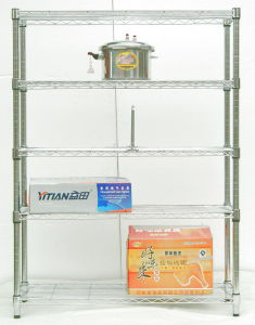 Adjustable Chrome Wire Racking for Hotel Kitchen pictures & photos