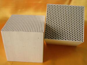 Alumina/Mullite/Dense Cordierite Ceramic Honeycomb Heat Exchanger for Rto/Rco pictures & photos