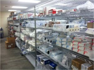 NSF Adjustable Chrome Steel Wire Hospital&Drugstore Shelving Rack pictures & photos