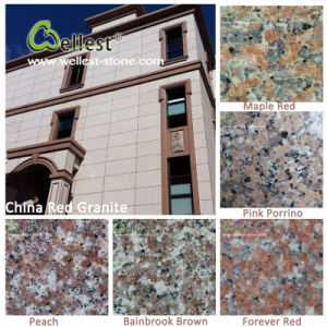 Hot Selling G687/G664/G562/G681/G635 Pink Red Granite Tile for Floor/Wall Cladding pictures & photos