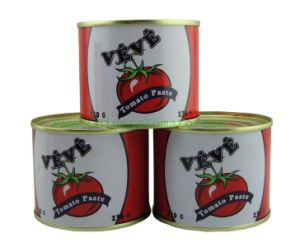 Halal Certification No Additive Canned Tomato Paste pictures & photos