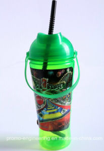 Wholesale 40oz Cola Sipper Bottle, Drinking Bottle with Straw