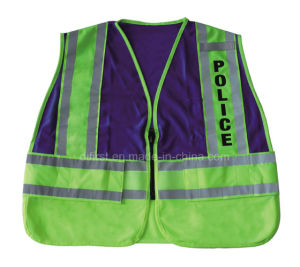 High Visibility Reflective Safety Vest with En471 (DFV1086) pictures & photos