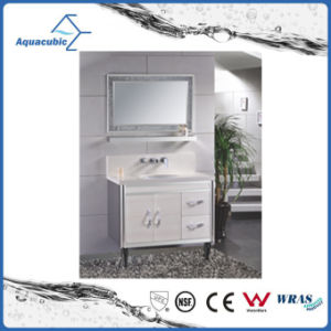 European Style Fashionble Modern Stainless Steel Bathroom Furniture pictures & photos