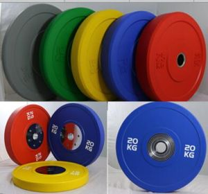 Olympic Crossfit Rubber Bumper Weight Plates/Gym Gym Accessories Rubber Bumper Plates