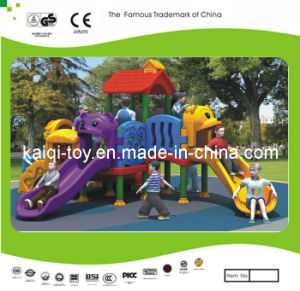 Kaiqi Small Colourful Animal Themed Children′s Playground (KQ10160A) pictures & photos