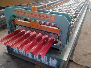 Corrugated Tile Roofing Sheet Forming Machine (XH780) pictures & photos