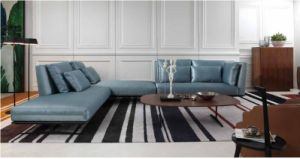 Best-Selling Popular Modern Design Living Room Furniture Fabric Sofa pictures & photos