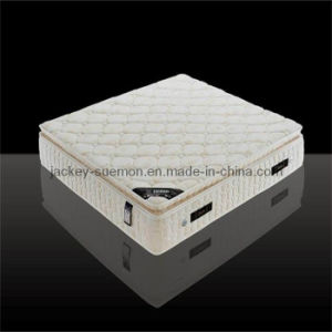 Pocket Spring Mattress with Latex Foam Pillow Top