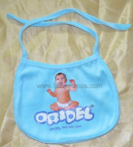 Baby Diaper Logo Promotional Gift Cotton Baby Feeding Bib pictures & photos