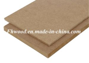 Chinese Plain MDF (Medium-density firbreboard) for Furniture pictures & photos