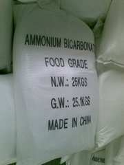 High Quality Food Grade Ammonium Bicarbonate pictures & photos