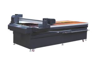 Label Printing Machine Glass Wood Cloth Leather Plastic Printing Machinery (Colorful UV1225)