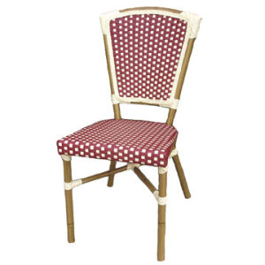 Aluminum Wicker Bamboo Looking Dining Chair (BC-08007) pictures & photos