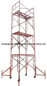 Construction Platform Movable Frame Scaffolding System pictures & photos