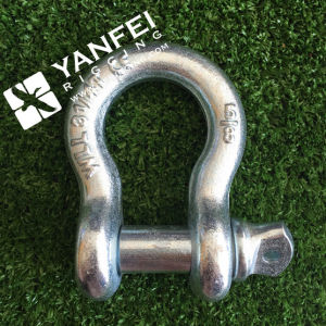 G209 Anchor Bow Shackle, Us Type Screw Pin Drop Forged pictures & photos