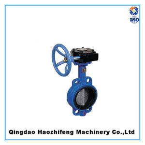 Marine Clamp Type Manual Operated Worm Gear Butterfly Valves pictures & photos